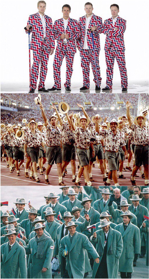 Fashion records: top most questionable Olympic uniforms in history