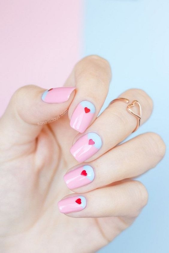 Top 5 cutest manicure ideas for Saint Valentine's Day